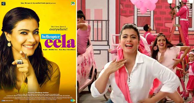 Helicopter Eela: Ruk-Ruk song got rejuvenated with the quirky foot-taping steps of Kajol