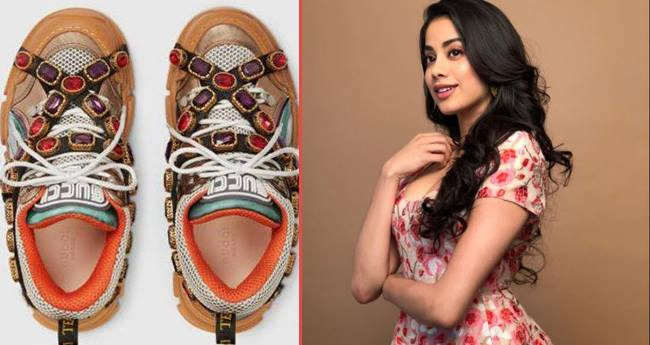 Jahnvi Kapoor's Shoes Cost Is Jaw-Dropping, But Seems Netizens Are Not Liking It