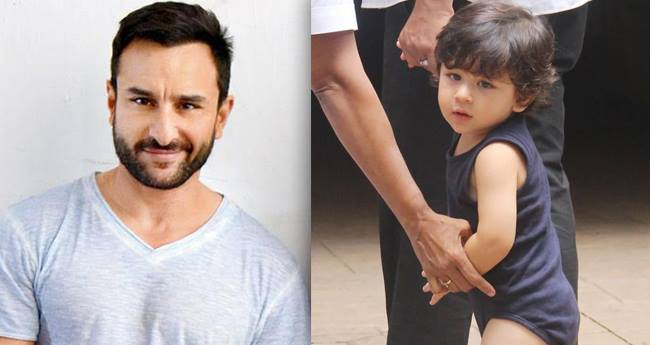 Taimur says Abba for the first time to dad Saif Ali Khan in front of paparazzi and its too cute