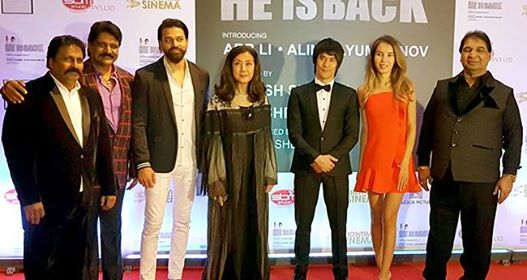 The Great Grand Mahurat of Hollywood Film HE IS BACK in Dubai, pictures from event are wonderful