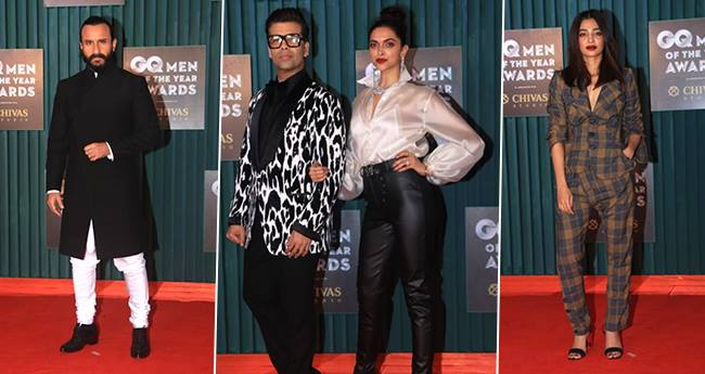 Bollywood Stars Shine Bright In Stunning Outfits At GQ Awards 2018