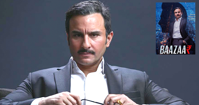 Baazaar actor Saif Ali Khan says he feels secure and wants to choose exciting roles
