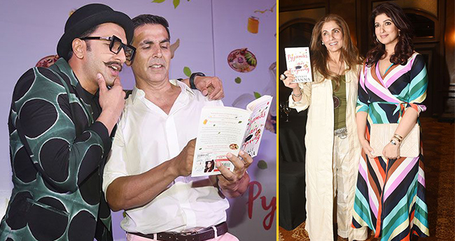 Bollywood Stars Mark Their Presence At Twinkle Khanna's Book Launch Event