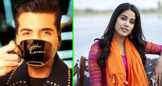 Janhvi And Arjun Kapoor Will Spill The Beans On Koffee With Karan