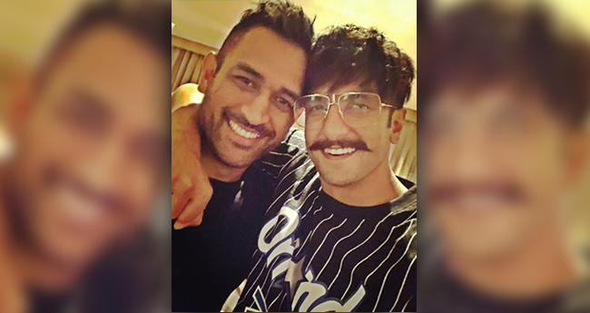 Ranveer Singh Had His Fanboy Moment With Captain Cool MS Dhoni