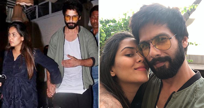 Shahid Kapoor steps out for a dinner date with wifey Mira Rajput