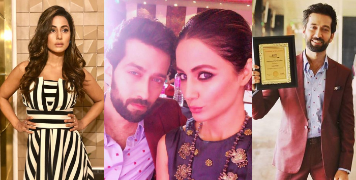 Nakuul Mehta And Hina Khan Win Big At Iconic Achievers Awards