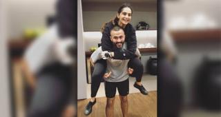 Adorable couple Sonam and Anand gymming together in Italy giving us fitness goals