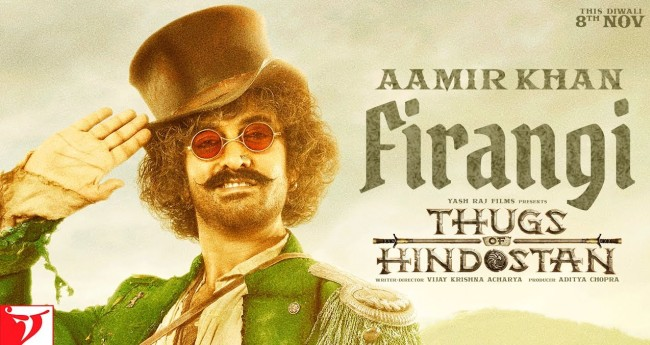 Thugs Of Hindostan Motion Poster: Aamir Khan As Firangi Seems To Be The Biggest Thug Among All
