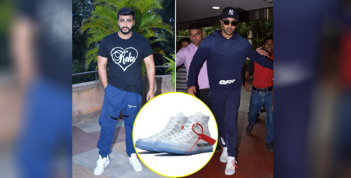 Ranbir amd Arjun spotted wearing amazing white sneakers and its price will make you astound
