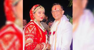 Baa Bahoo Aur Baby actress Suchita Trivedi gets hitched to beau Nigam Patel