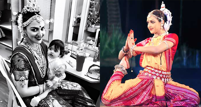 Esha Deol has a great backstage fun with daughter Radhya before her performance