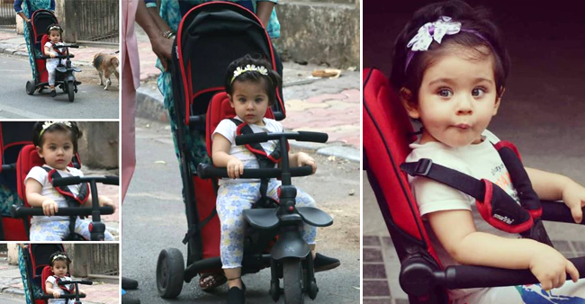Little Inaaya's Cute Chubby Cheeks and Blues Eyes will melt your Heart, See Pics