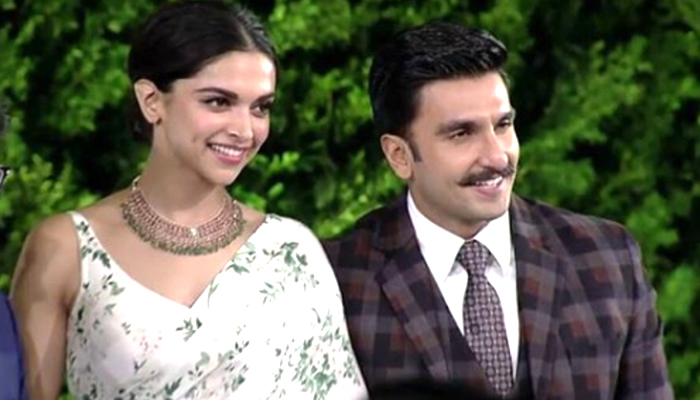 Ranveer Singh Walks Hand-In-Hand With Deepika At HT Leadership Summit