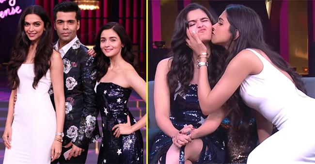 Koffee With Karan 6: Alia Bhatt Wins The Koffee Hamper Leaving Behind Deepika