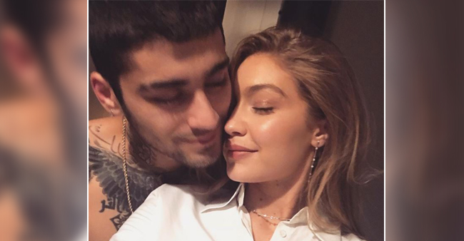 Gigi Hadid Shares a Cuddly Picture with Her bae Zyan Malik: Have a look