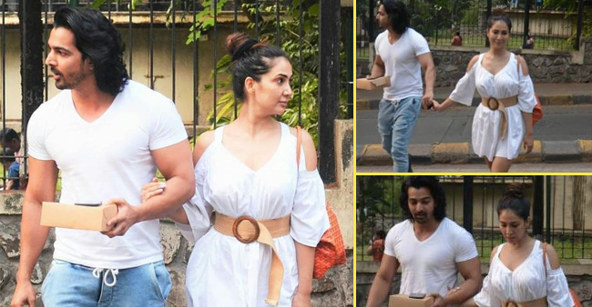 Kim Sharma and Harshvardhan Rane Walked Hand-in-Hand, Across Mumbai Streets