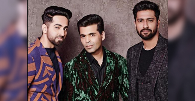 Ayushmann and Vicky to Make their Koffee Debuts in Sixth Season of Koffee With Karan