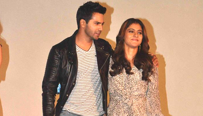 Kajol would love to play Varun Dhawan's love interest, says its fun working with him