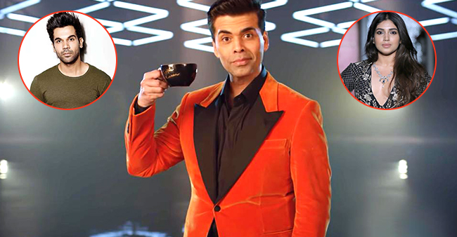 Rajkummar Rao to grace the couch with Bhumi Pednekar in Karan's KWK season 6