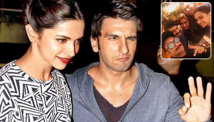 Lovebirds Deepika and Ranveer Dined With Ranveer's Mom Anju Bhavnani At Taj Lands