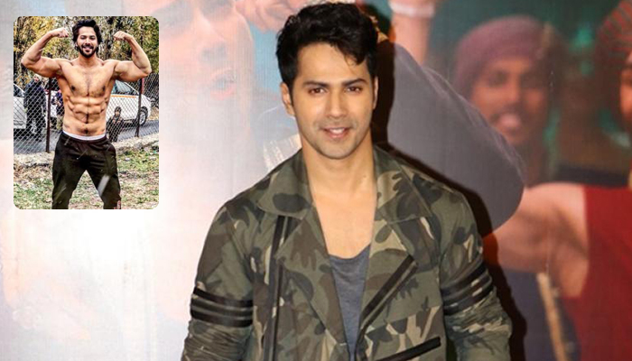 Varun Dhawan's Six-Pack look from the sets of Kalank is worth praising
