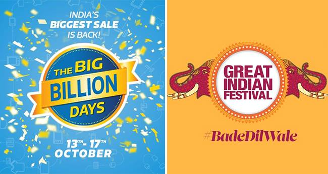 Flipkart Big Billion Days Sale and Amazon Great Indian Festival: How to Lock the Best Deals