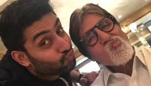 Amitabh Bachchan Shared Abhishek's Saucy Childhood Picture And He Returns It Back