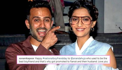 TBT picture shared by Sonam K Ahuja on National Boyfriend Day is simply amazing