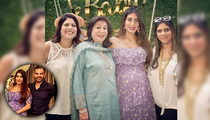 Sunjay Kapur's Wife Priya Sachdev Looks Super Elegant At Her Baby Shower