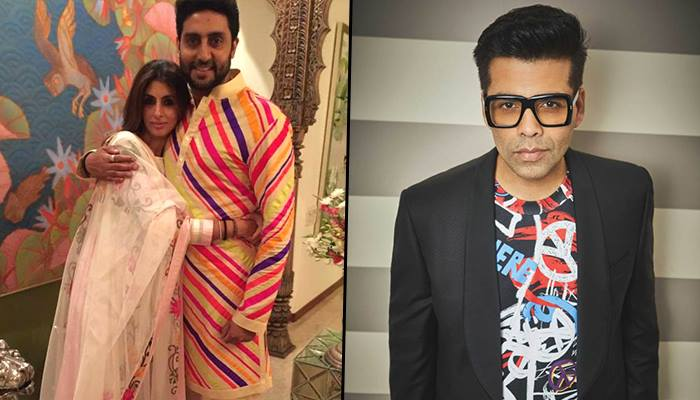 Abhishek Recalls The Time When He Tied Karan Johar and sister Shweta To A Tree