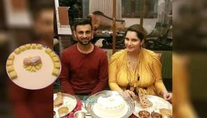 Sania Mirza Looked Super Happy And Was Glowing At Her Baby Shower