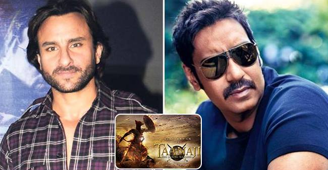 Saif Ali Khan To Reunite With Ajay Devgn For Taanaji After 12 Years