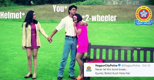 Nagpur Police along with fans celebrated 20 years completion of Kuch Kuch Hota Hai, shares memes and tweets
