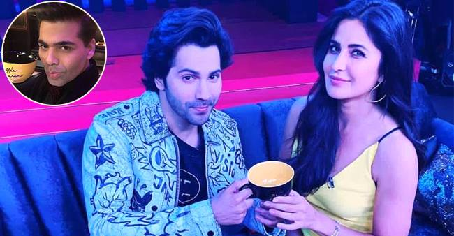 Varun Dhawan Bonds Big Time With His Katrina Kaif On Koffee With Karan 6