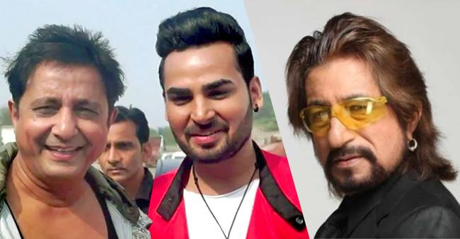 Shakti Kapoor spotted with singer Shivendra dahiya who plays cameo in The Journey of Karma