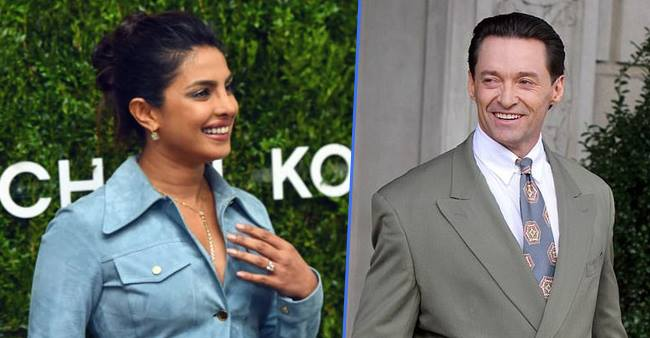 Priyanka's looks left the X-Men actor Hugh Jackman distracted and stunned