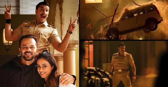 Karan Johar Shares The Outrageous Action Video From Simmba Featuring Rohit And Ranveer