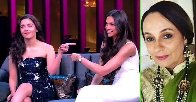 Alia and Deepika were the best ever in KWK-6, says Alia's mother Soni Razdan