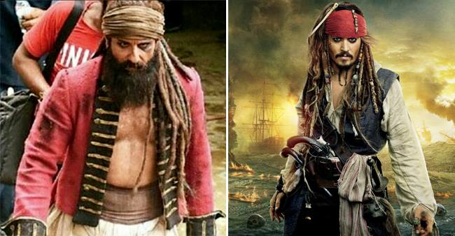 Saif Ali Khan responds to the news on being compared with Jack Sparrow for his Hunter look