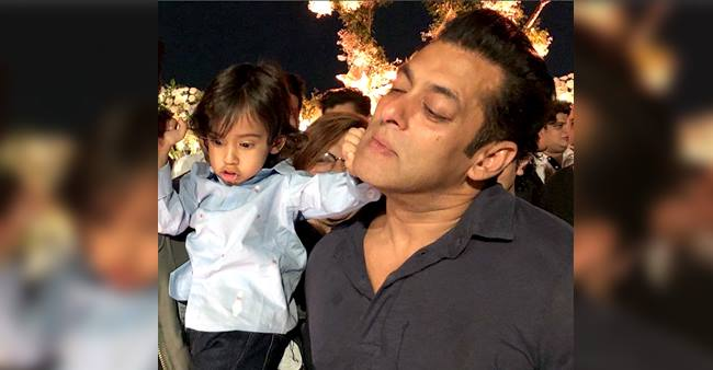 Salman Khan Spending Big Time with Family and Nephew Ahil Sharma, take a look.