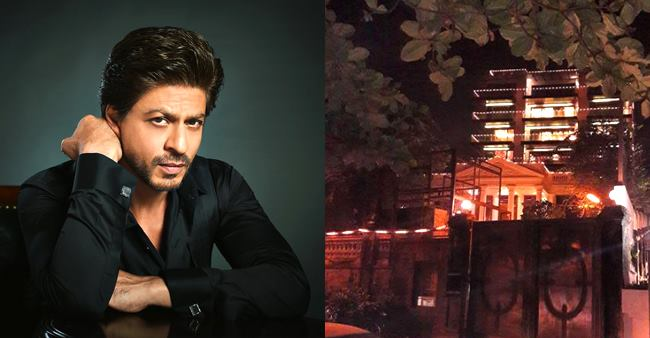 SRK's Mannat Is All Decked Up With The Lights For His Birthday On 2nd November
