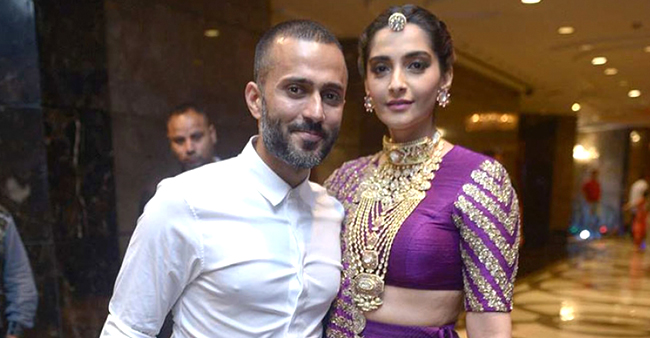 Sonam Kapoor and Anand Ahuja prepping up for their first Karva Chauth after wedding