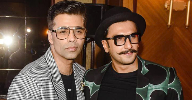Karan Johar Gifts A Few Outfits Worth Lakhs To Ranveer Singh That Only He Can Rock In