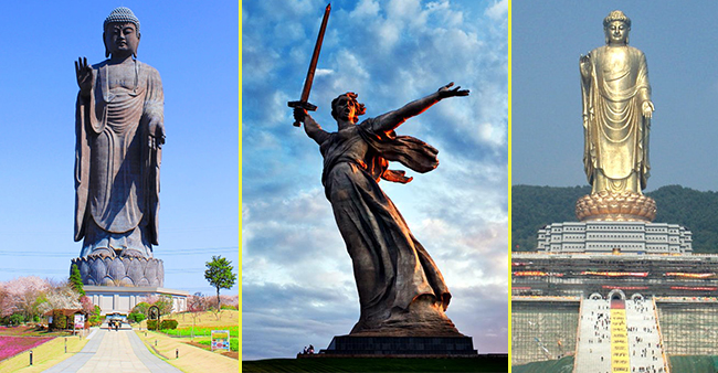 Some of the tallest statues in the world which will leave you awestruck
