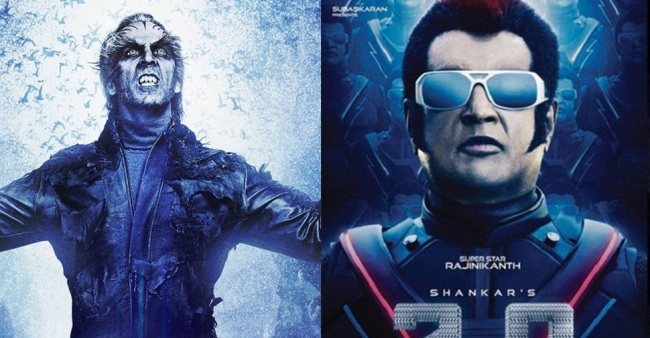 Trailer Of 2.0 Starring Akshay And Rajinkanth To Be Out In First Week Of November