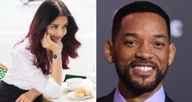 Will Smith is keen on working with Bollywood beauty Aishwarya Rai Bachchan