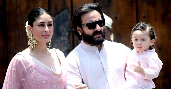On 6th wedding anniversary Saif and Kareena had a whale of time with Taimur