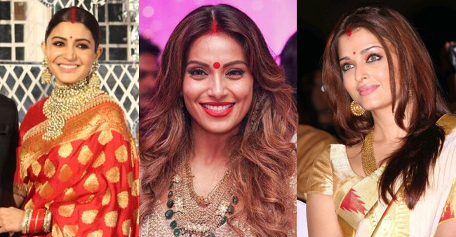 Bollywood Actresses Who Aced Their Looks Wearing Sindoor And Made Us Go Wow