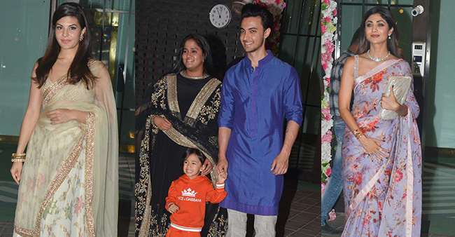 Arpita Khan's star-studded Diwali bash celebration was a beautiful one